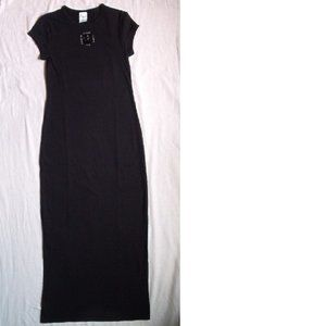 New - Calvin Klein Maxi Dress, Black, Medium
